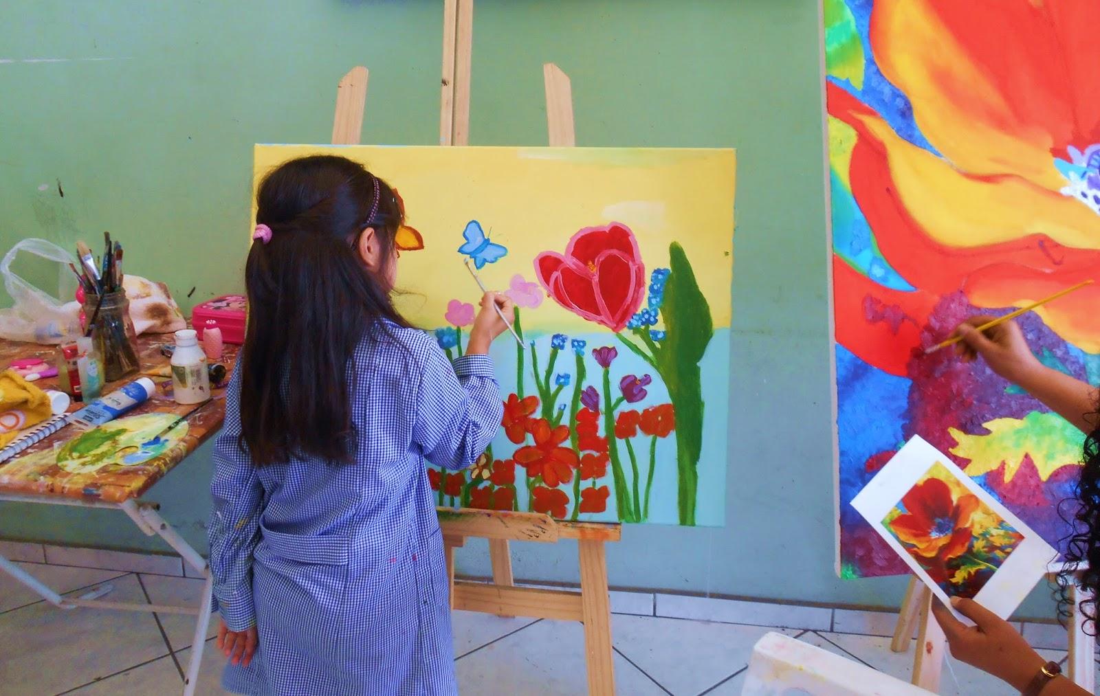 Taller clases de dibujo y pintura para ni os en antofagasta - Dibujos de pared para ninos ...
