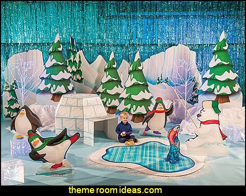 Arctic Playground Theme Kit-winter themed decorations