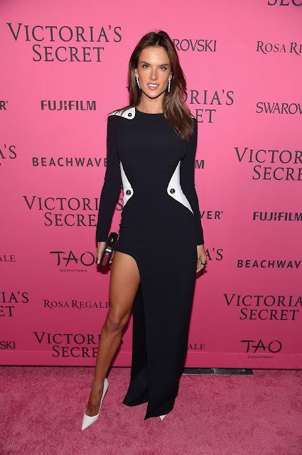Actress, Supermodel @ Alessandra Ambrosio - Victoria's Secret Fashion Show After Party