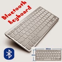 Ultra thin Slim Bluetooth 2.0 Wireless Keyboard Keypad. £9.99