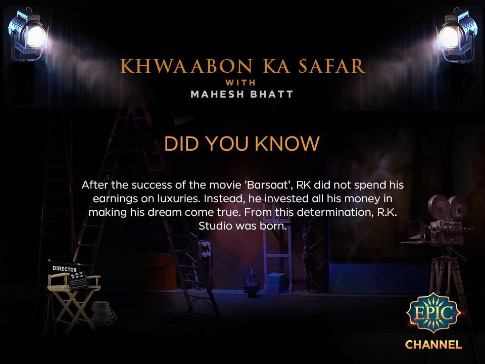 Khwaabon ka Safar with Mahesh Bhatt Epic Tv serial wiki, Full Star-Cast and crew, Promos, story, Timings, TRP Rating, actress Character Name, Photo, wallpaper