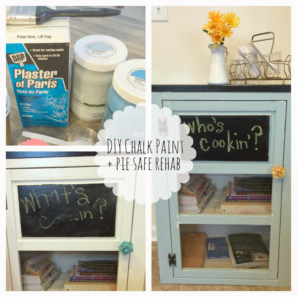 Two Ten Handmade - Pie Safe w/DIY Chalk Paint