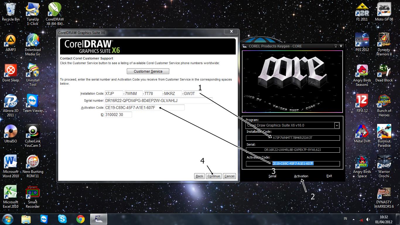 Скачать KEYGEN CorelDRAW X7. . . Инструкция по взлому лицензии CorelDraw G