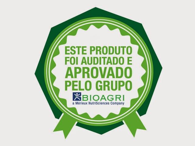 Selo de qualidade Bioagri