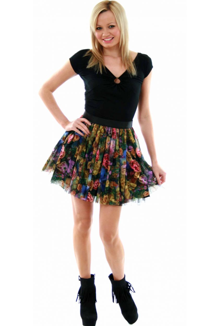 Luxury Top  PartyGirl Skirt