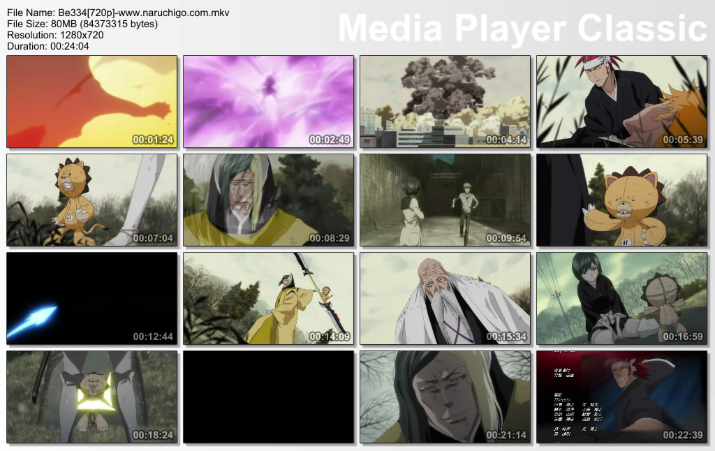 Bleach Episode 334 English Sub