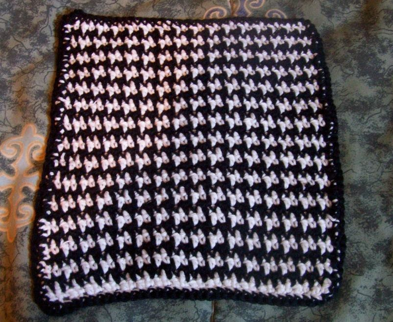 Sue\'s Crochet and Knitting: The Houndstooth Crochet Stitch