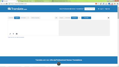Translate.com, Translator penerjemah berbagai bahasa