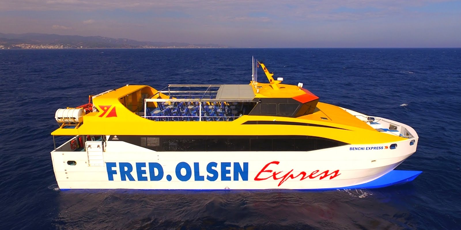 Canary Island Ferry Service