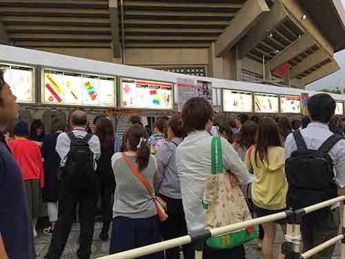 「いきものがかりの みなさん、こんにつあー!! 2015 ~FUN! FUN! FANFARE!」グッズ売り場