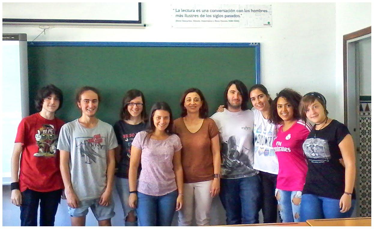 Grupo de Literatura Universal H1A curso 2015-16