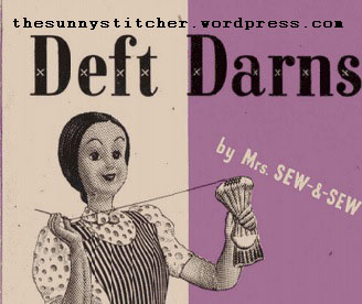 1940's Sewing - Deft Darns free pdf