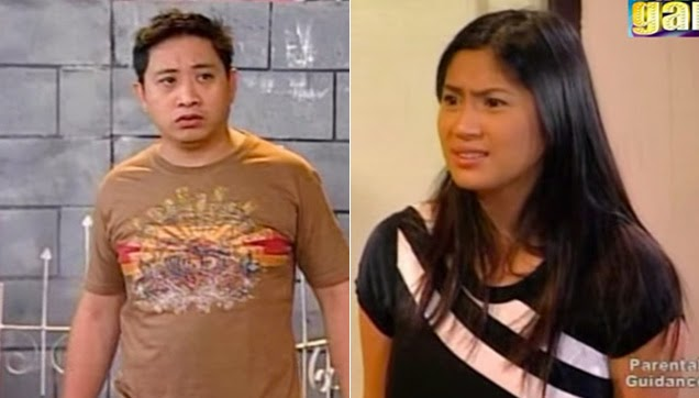 Bitoy and Diana Zubiri talks about the son and the father.