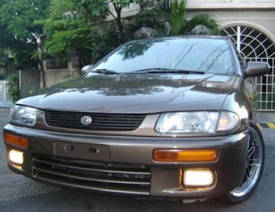 Eksterior Mazda 323 Lantis / 323 Familia