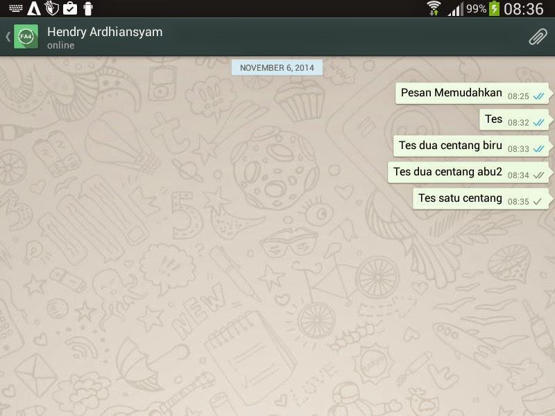 Arti Tanda Centang pada Pesan WhatsApp