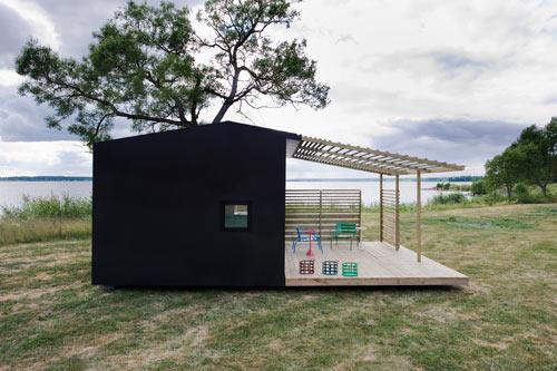 Hogares frescos mini casa moderna prefabricada por jonas - Mini casas prefabricadas ...