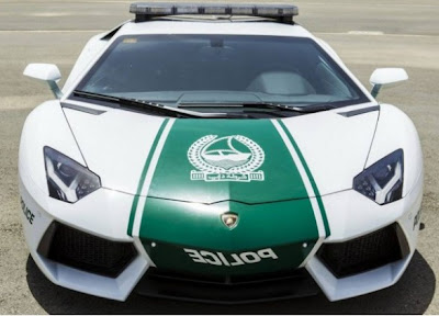 Lamborghini Aventador LP700-4 For The Police In Dubai