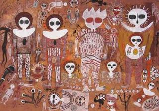 Pinturas antiguas relacionadas con la Biblia Wandjinas-2