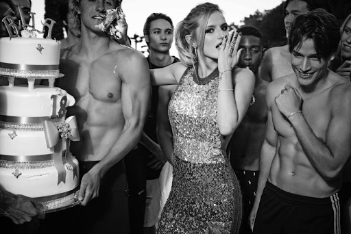 Bella Thorne sexy bikini party for Flaunt Magazine Issue 143 2015 photo shoot