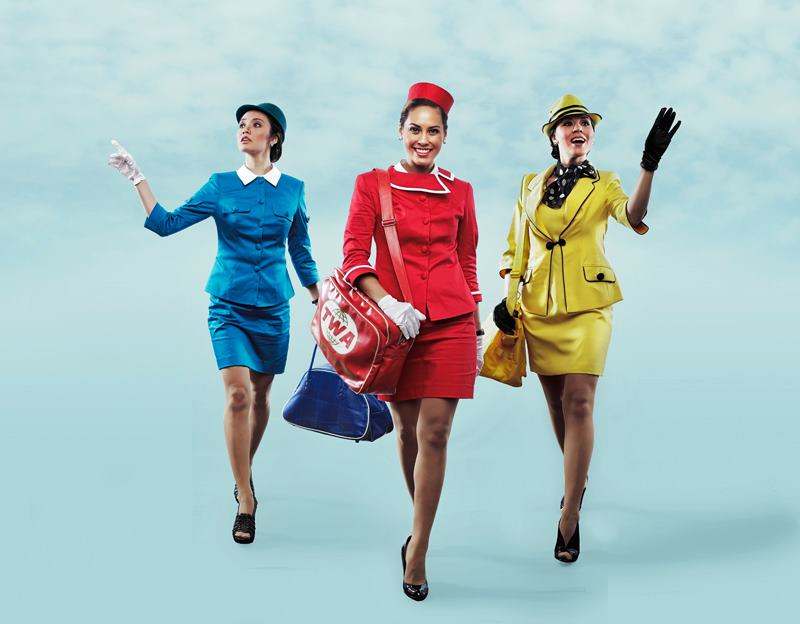 FREEZE FRAME: Meet the Three Lovely Flight Attendants of BOEING-BOEING