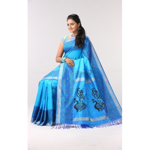 Prasanthi Cotton Silk Sari Designs