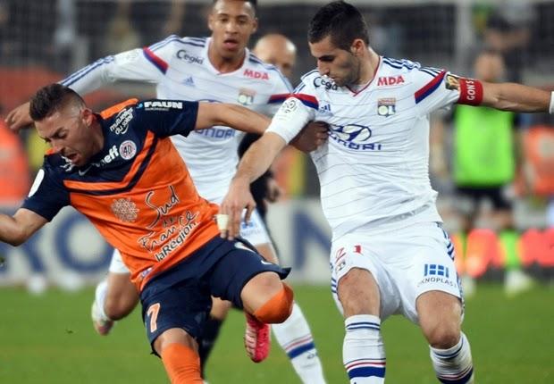 Olympique Lyon Mengamuk Di Kandang Montpellier 1-5