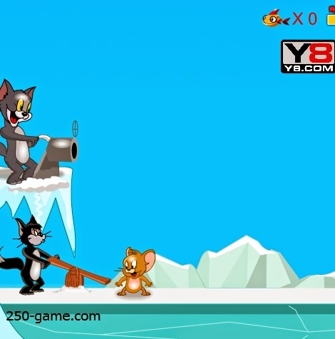 لعبة مغامرات القط و الفار
