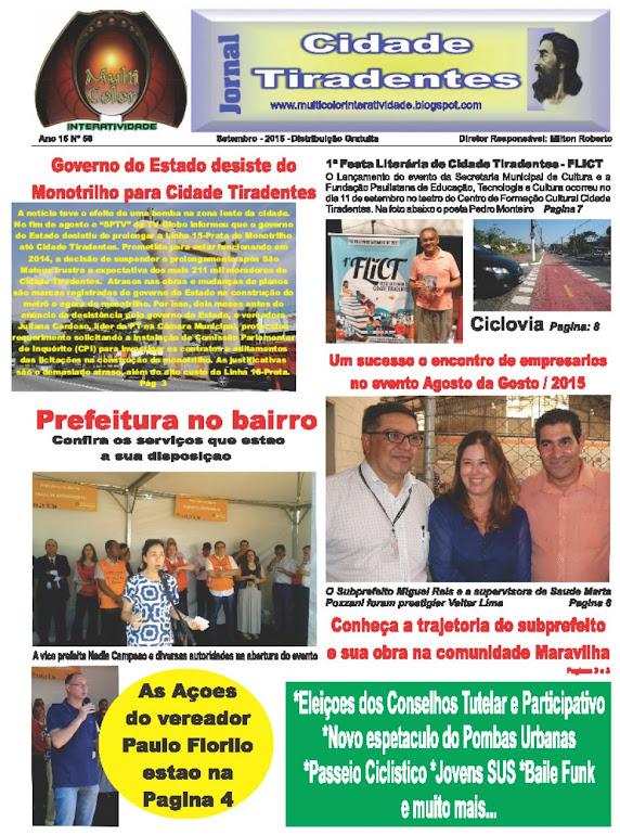Jornal Cidade Tiradentes 58