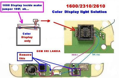 GsM FatehPur: NOkia 1110 1112 1600 2310 2610 LCD Light Solution Ways