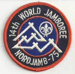 Insignia del 14 Jamboree Mundial 1975