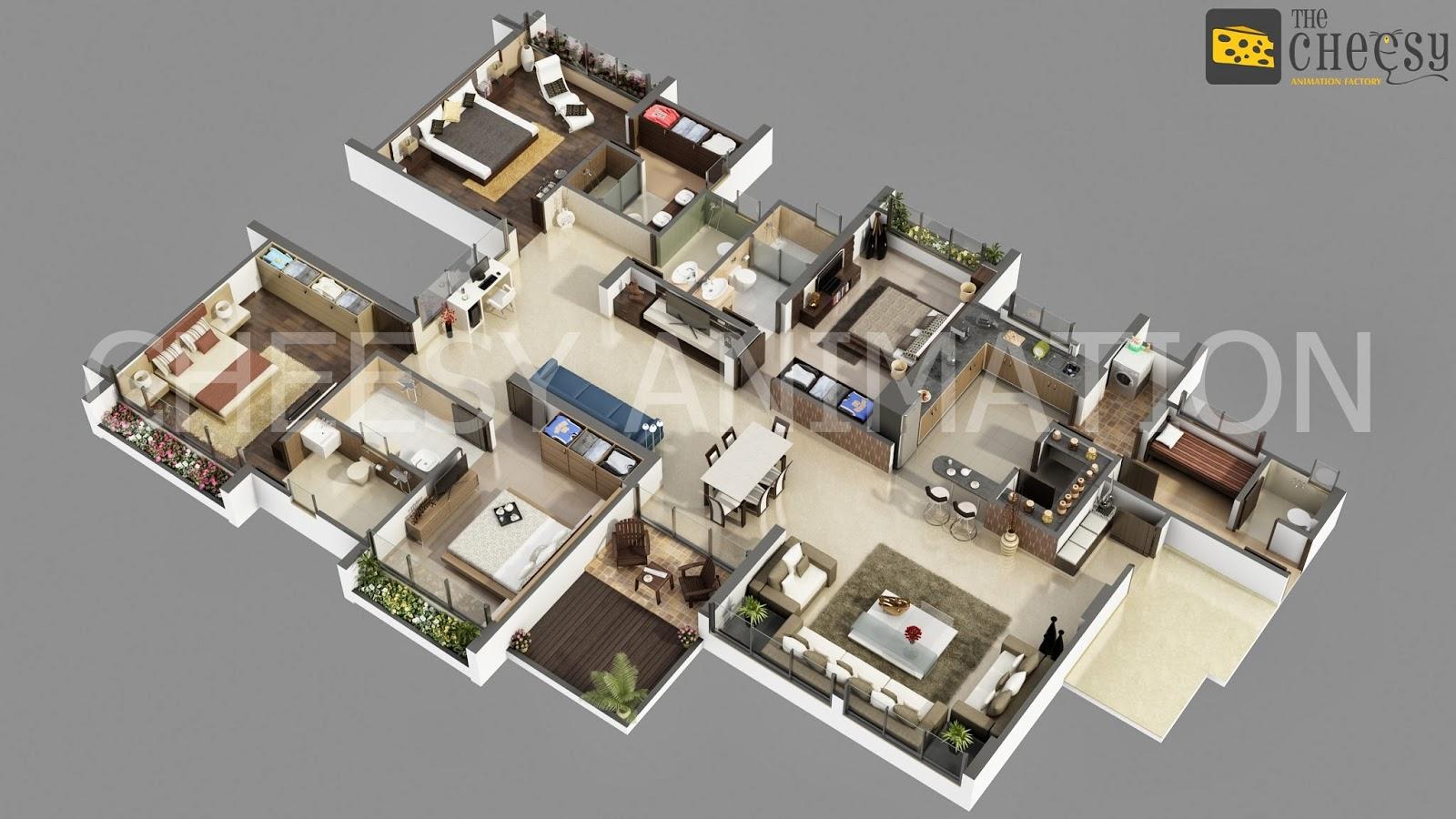 3d Floor Plan 3d Floor Plan Rendering Saves Time And Money