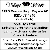 Village Wools now in Payson