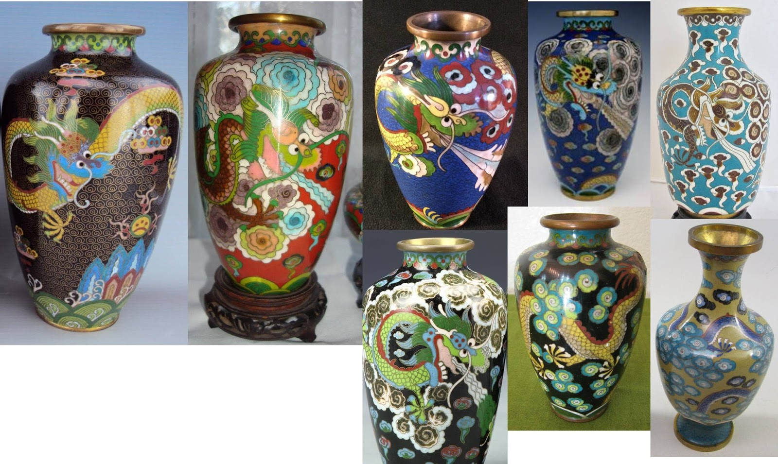 Beadiste puzzling evidence chinese cloisonne in the 1930s 1940s 1890 1910 style on the left zingier deco era red vase vase with crinkle clouds background diaper high shouldered base with gray clouds reviewsmspy
