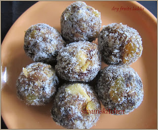 Sivan's Kitchen - Dry fruits laddu