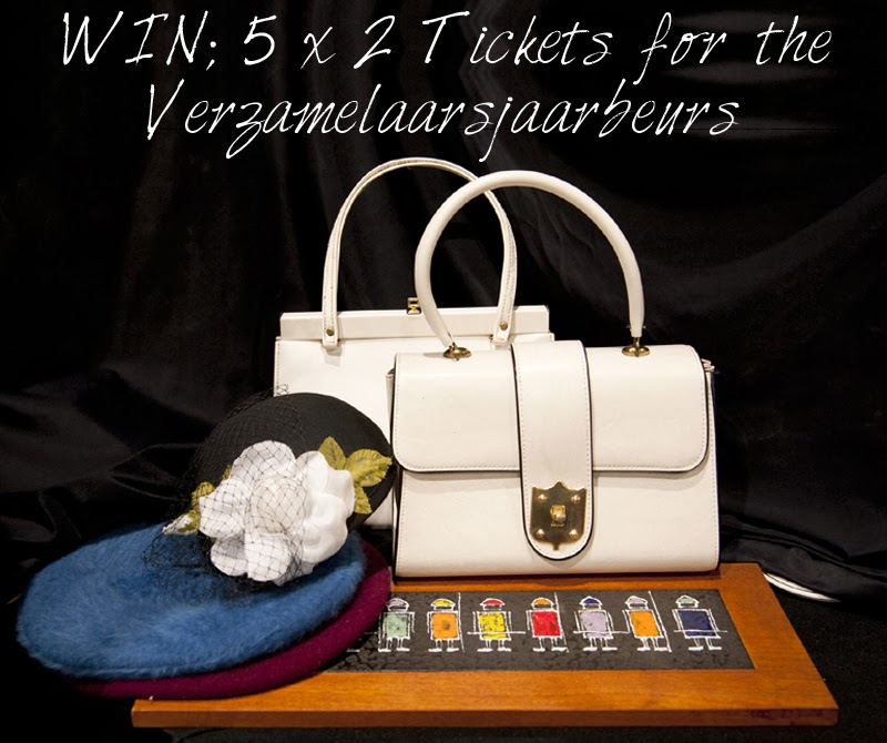 Win, Winactie, Tickets, Entree, Kaarten, Verzamelaarsjaarbeurs, Jaarbeurs, Utrecht, 23 24 November, Giveaway, Vintage, Must Visit, Wish List, Fun, Agenda, The Netherlands, Fall, Antique, La Vie Fleurit, Blog, Blogger, Fleur Feijen