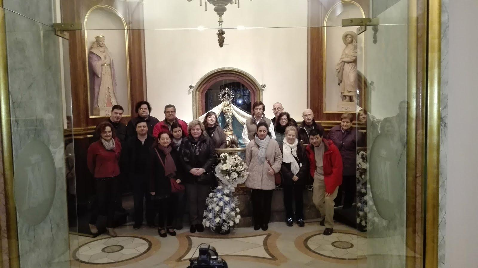 Peregrinació de la Congregació Mariana de Reus (20-12-2015)