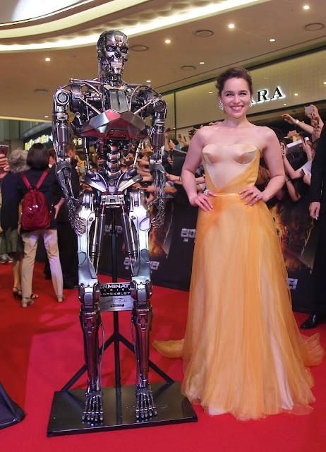 Actor @ Emilia Clarke - 'Terminator Genisys' Premiere in Seoul, South Korea