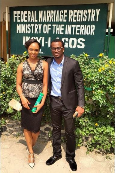 paul and anita okoye court marriage