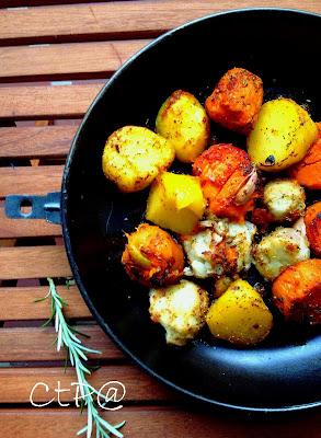 semplice ricetta di patatte dolci americani e conesi passate al forno