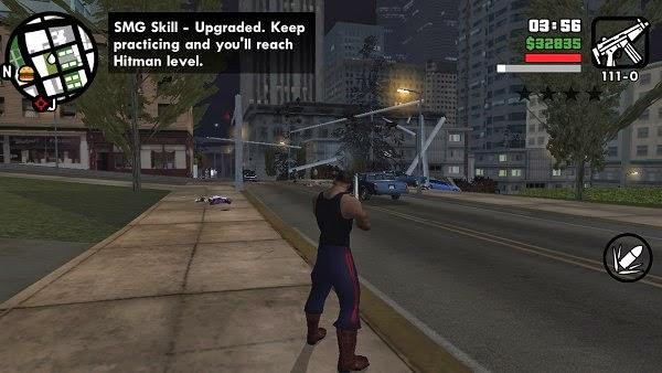 GTA San Andreas Android ss 1