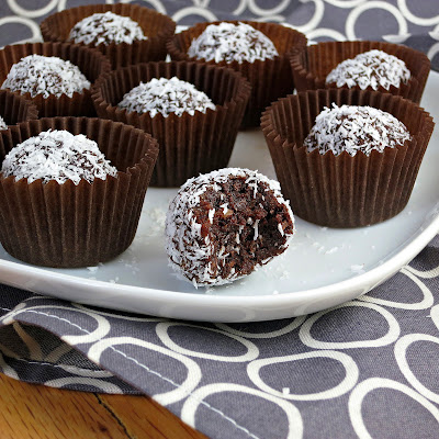Healthy Chocolate Coconut Truffles | Alida's Kitchen