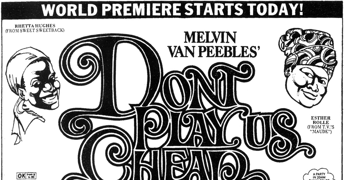 Melvin Van Peebles Dont Play Us Cheap Original Cast Soundtrack Album