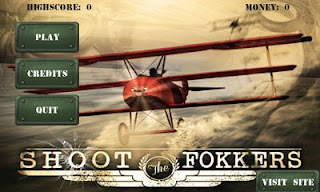Screenshots of the Shoot The Fokkers for Android tablet, phone.