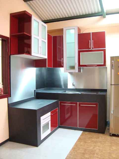 Kitchen set kitchen set minimalis kitchen set murah desain for Paket kitchen set murah