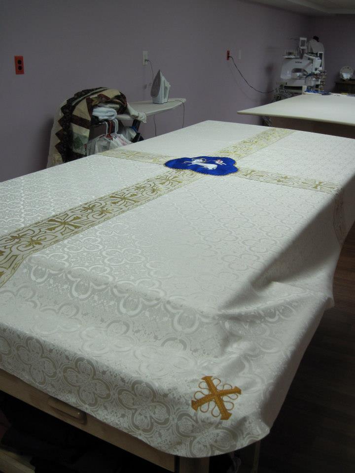 E-nklings: Redeemer Lutheran Funeral Pall