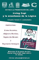 Presentación del libro Irving Copi y la enseñanza de la Lógica