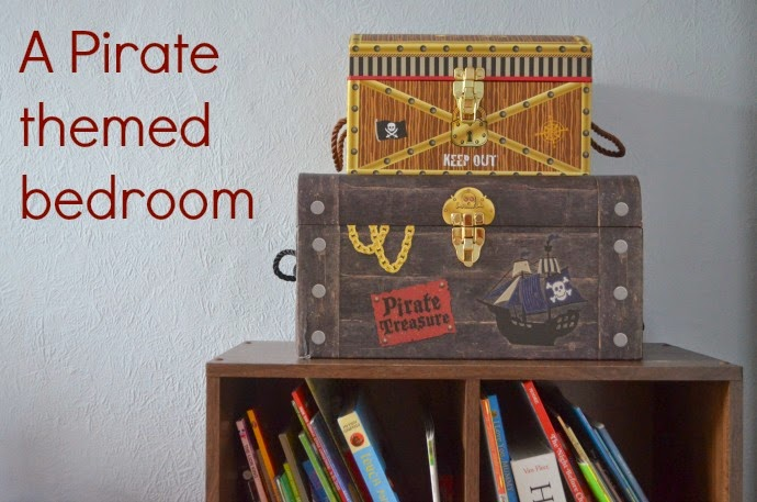 pirate themed bedroom, pirate toddler room, themed toddler room