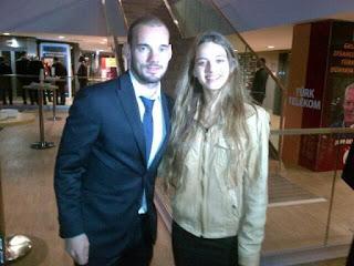 Foto Leyla Tanlar 'Cansu' dan Wesley Sneijder