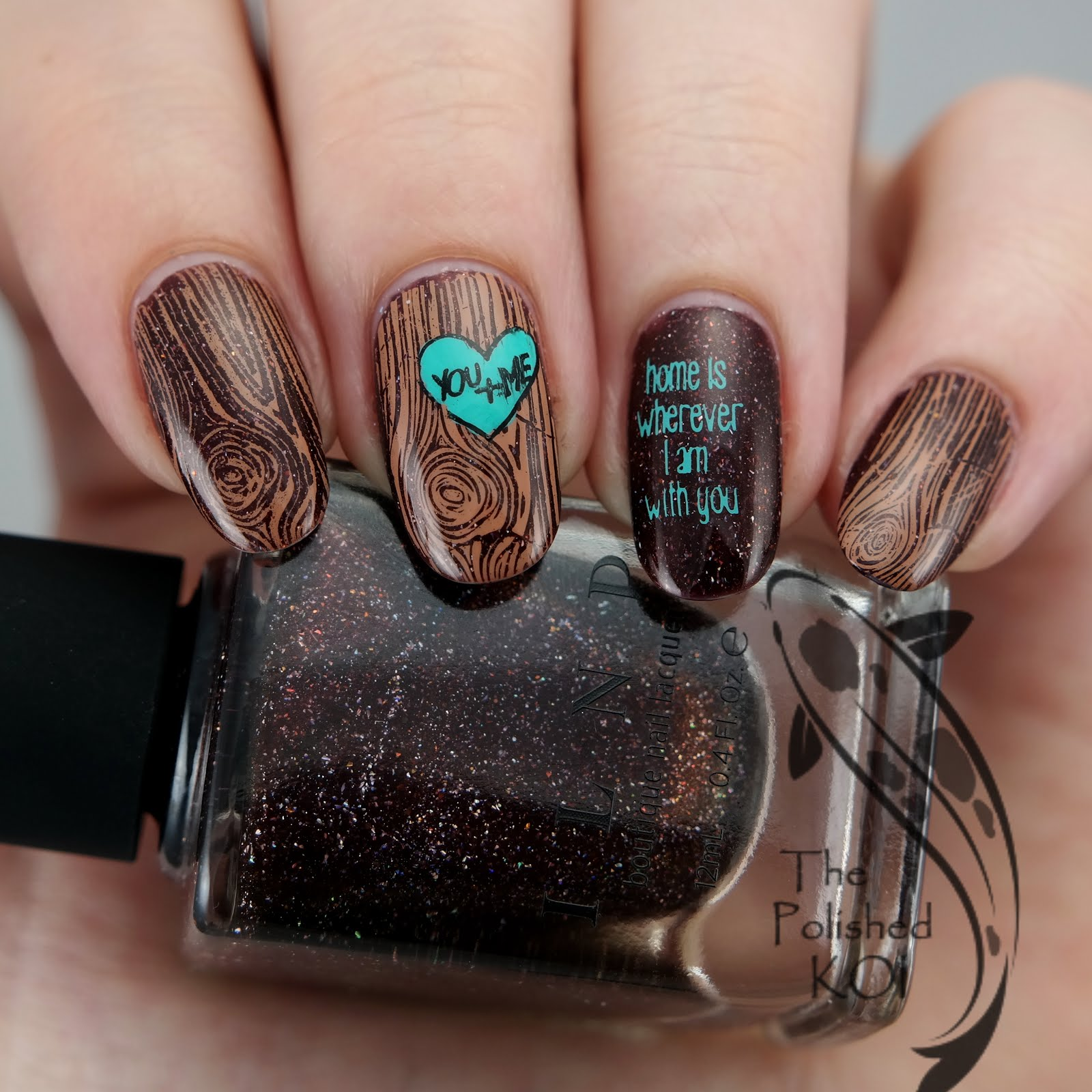 The polished koi swatch art ilnp overnight bag wood grain designs always draw me in but until uberchic they were pretty simplistic and definitely not as detailed or realistic looking prinsesfo Image collections