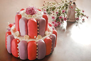 Cara Membuat Wedding Cake dari Twinkies